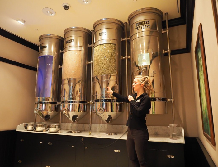 How beer is made | The Heineken Experience in Amsterdam | the Netherlands | Heineken Brewery | brewery tour | VIP tasting | beer | Amstel | Brand | Affligem | Heineken 41 | beer tasting