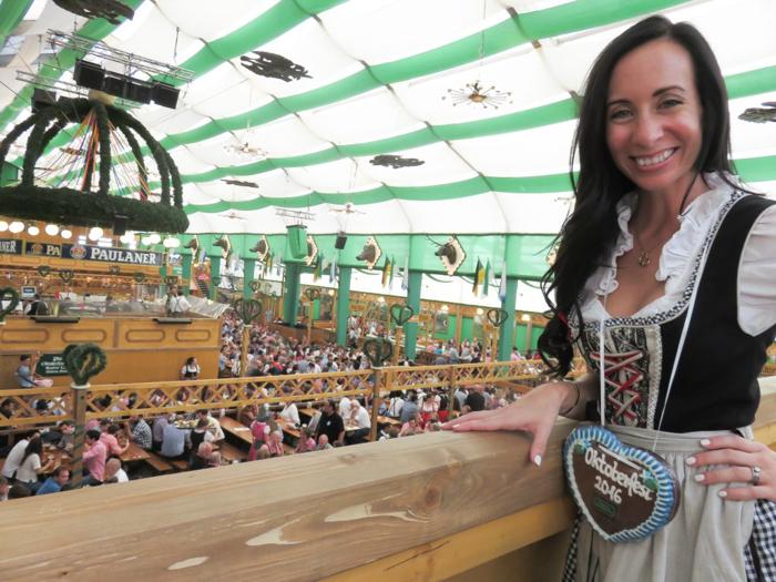 How to Dress for Oktoberfest | what to wear | Munich, Germany | dirndl | lederhosen | trachten | beer festival | tents | costume |