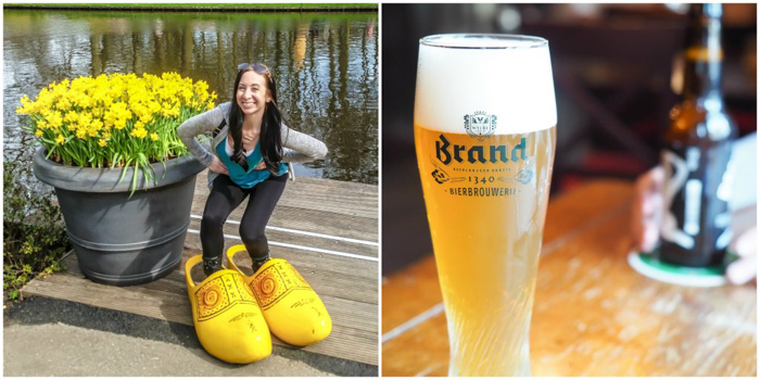 3 days in Amsterdam, Netherlands | Brand beer | Keukenhof flower gardens, woodens shoes, tulips | Brown cafe