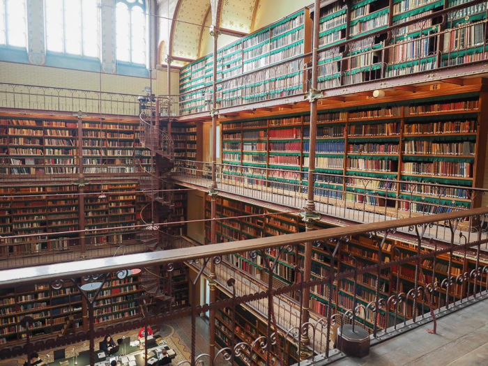 Art history library at the Rijksmuseum | Amsterdam, Netherlands | Dutch art history