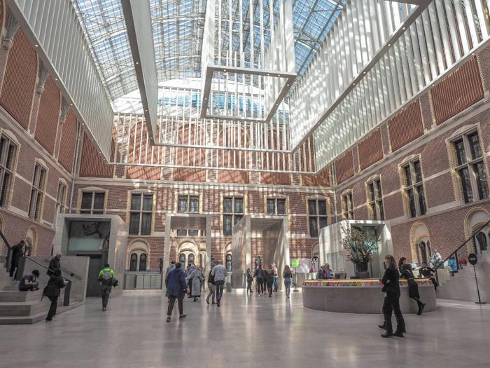 lobby / atrium interior of the Rijksmuseum | 3 days in Amsterdam, Netherlands