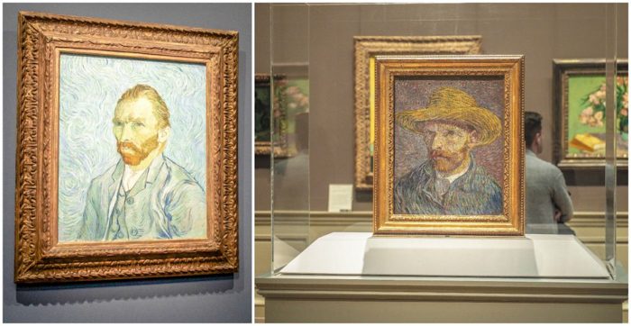3 days in Amsterdam | Van Gogh Museum | Vincent van Gogh self portraits | Dutch art history and paintings