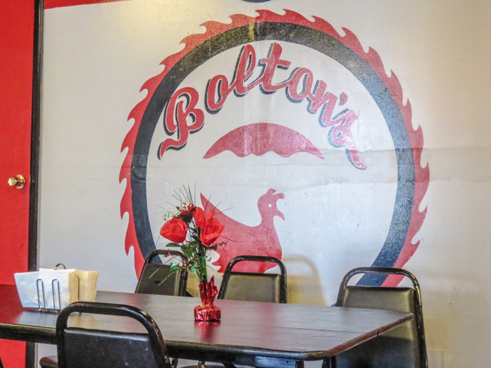 An exploration of Nashville Hot Chicken | Bolton's Spicy Chicken and Fish | Nashville, Tennessee | chicken and waffles, chicken tenders, spicy fried chicken | Southern cuisine | Soul food | Inside of the building