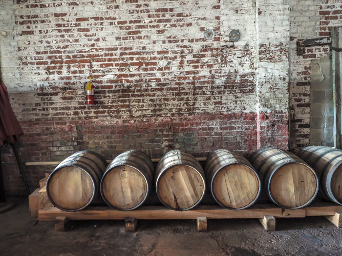 Memphis craft breweries | High Cotton Brewing Co. | Craft beer in Downtown / Midtown Memphis, Tennessee | High Cotton taproom | beer barrels