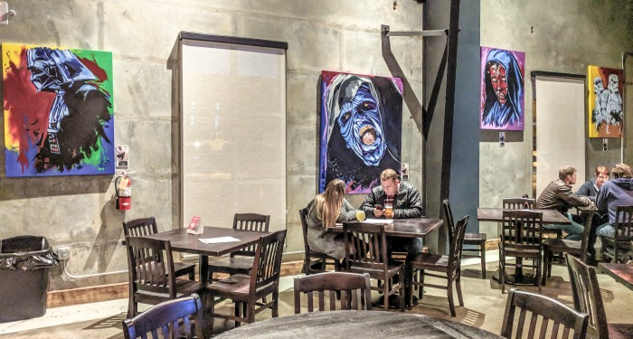 Guide to Memphis craft breweries | Meddlesome Brewing Company, Cordova, Tennessee | Star Wars art