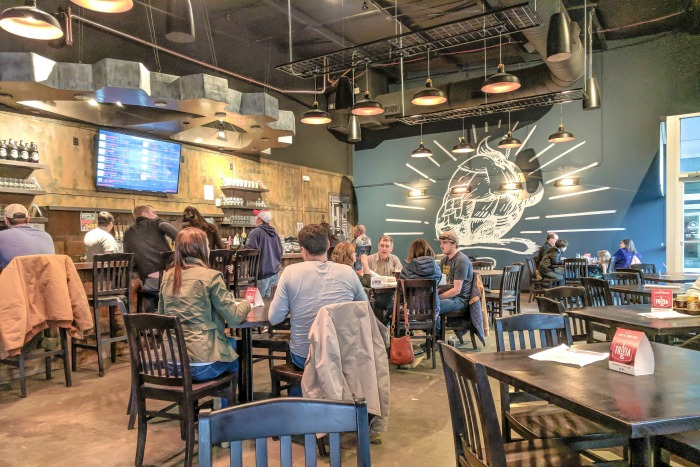 Guide to Memphis craft breweries | Meddlesome Brewing Company, Cordova, Tennessee | Interior