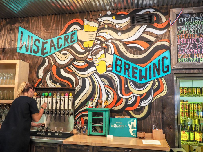Memphis craft breweries | High Cotton Brewing Co. | Craft beer in Downtown / Midtown Memphis, Tennessee | Wiseacre Brewing Co., Midtown, Broad Avenue