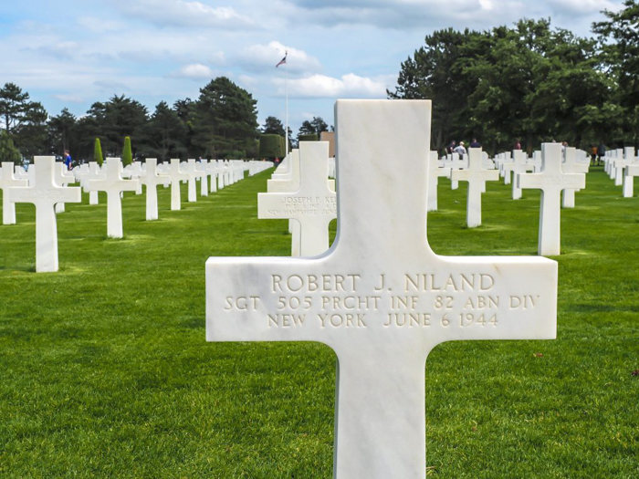 The best D-Day sites to visit in Normandy, France | WWII | WW2 | Normandy American Cemetery | Saving Private Ryan | Robert Niland