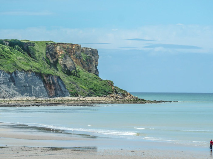 The best D-Day sites to visit in Normandy, France | WWII | WW2 | Arromanches | cliff