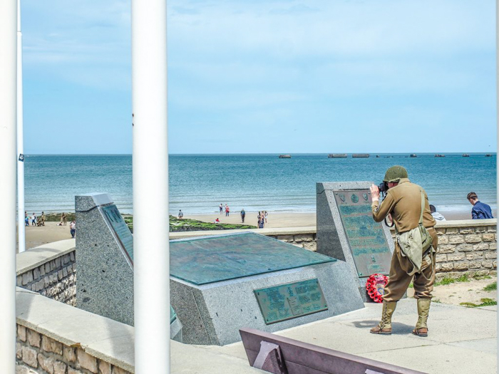 The best D-Day sites to visit in Normandy, France | WWII | WW2 | Arromanches | soldier memorial