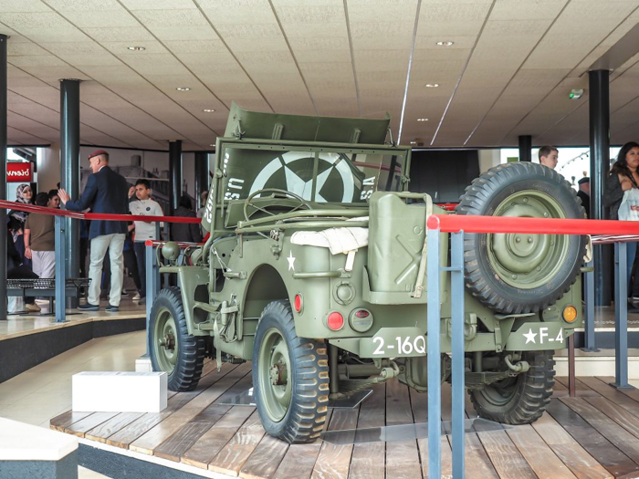 The best D-Day sites to visit in Normandy, France | WWII | WW2 | Caen Memorial and Museum | jeep