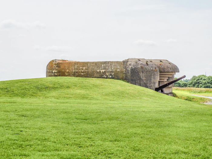 The best D-Day sites to visit in Normandy, France | WWII | WW2 | Longues-sur-Mer German battery | gun casement