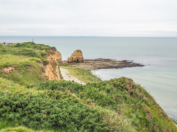 The best D-Day sites to visit in Normandy, France | WWII | WW2 | Pointe du Hoc | cliffs