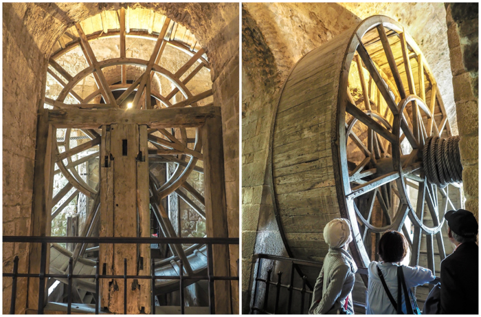 It's actually worth visiting Mont Saint Michel | Normandy, France | Medieval abbey on an island | Bucket list | Disney fairy tale castle inspiration | Mont-St-Michel | man-powered wheel