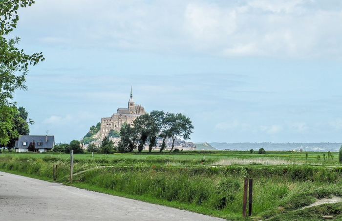 It's actually worth visiting Mont Saint Michel | Normandy, France | Medieval abbey on an island | Bucket list | Disney fairy tale castle inspiration | Mont-St-Michel | distance