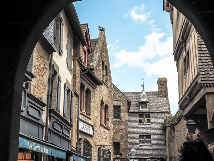 It's actually worth visiting Mont Saint Michel | Normandy, France | Medieval abbey on an island | Bucket list | Disney fairy tale castle inspiration | Mont-St-Michel | main street