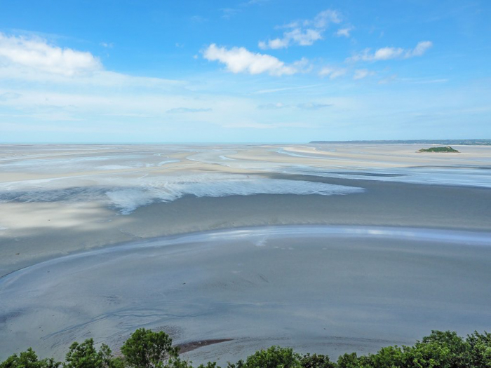 It's actually worth visiting Mont Saint Michel | Normandy, France | Medieval abbey on an island | Bucket list | Disney fairy tale castle inspiration | Mont-St-Michel | low tide
