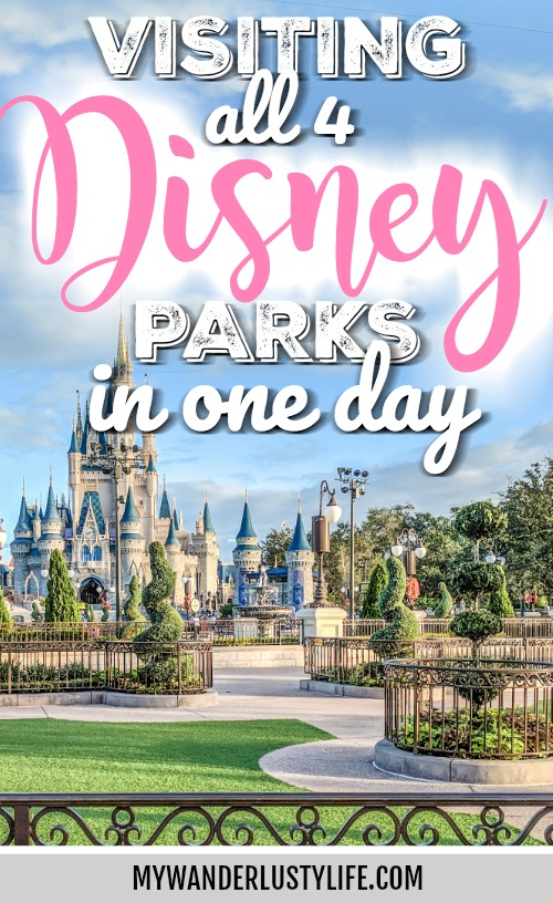Do This, Not That // Visiting All 4 Disney Parks in 1 Day