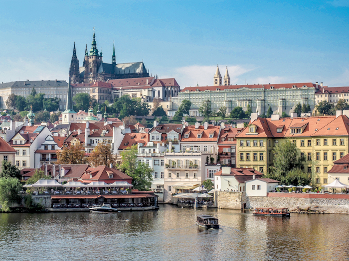 Czeching Out the Best of Prague in 3 Days   Prague Castle from across the Charles Bridge and the Vltava River