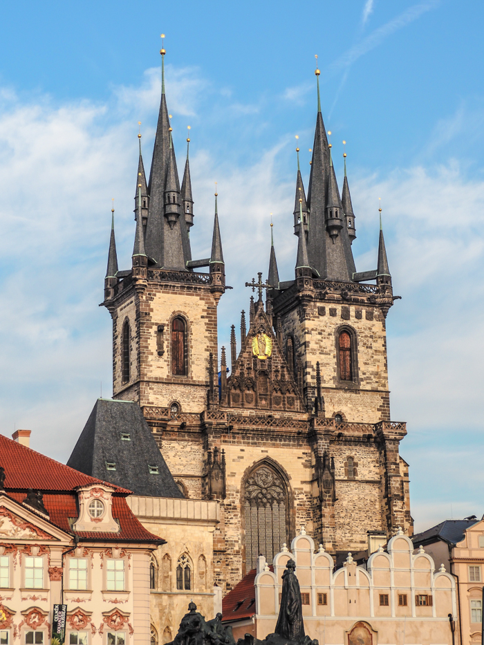 Czeching Out the Best of Prague in 3 Days | Church of Our Lady Before Tyn