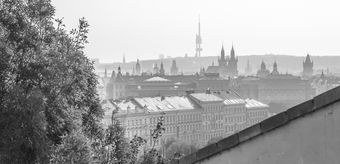 Czeching Out the Best of Prague in 3 Days   Prague Castle   Rooftop view from the Old Castle Steps