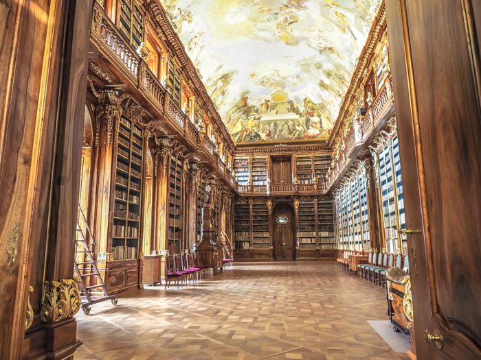 Czeching Out the Best of Prague in 3 Days   Czech Republic   Strahov Monastery Library, Philosophical Room