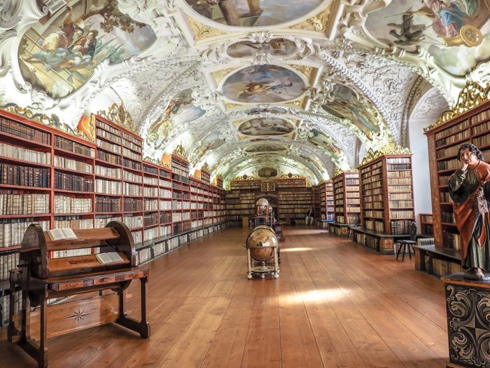 Czeching Out the Best of Prague in 3 Days   Czech Republic   Strahov Monastery Library, Theological Room