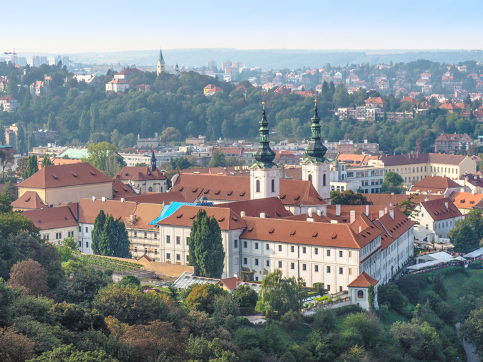Czeching Out the Best of Prague in 3 Days   Czech Republic   Strahov Monastery view from Petrin Tower