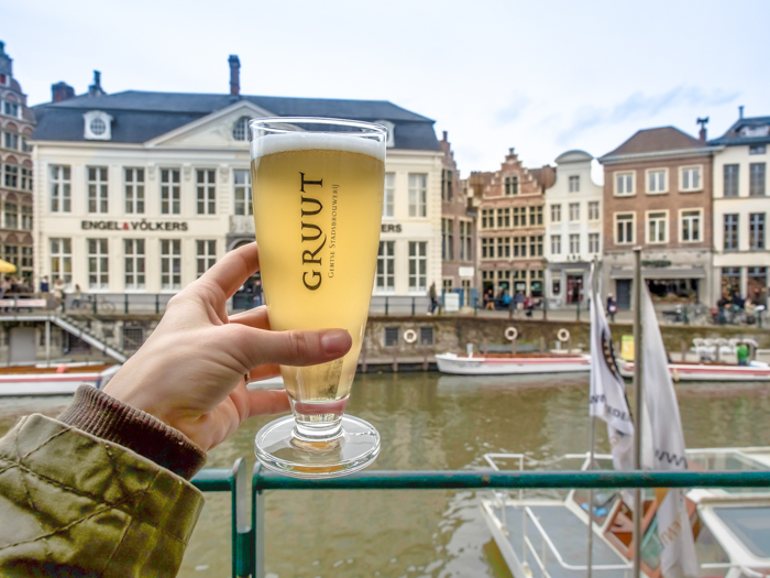 4 days in Belgium | Where to drink in Ghent | Gent | Het Waterhuis aan de Bierkant | Gruut beer