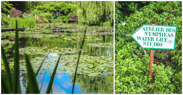 Day Trip to Givery from Paris, France | Show me the Monet! | Claude Monet, Waterlilies | Impressionist art | Day trips from Paris | What to do in Paris | Things to do in Paris | Where to go in France | Waterlily pond | Impressionism | Monet's water lily pond nympheas