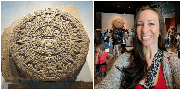 15 essential Mexico City experiences for the best trip ever | Mexico City must-do | Things to do in Mexico City | What to do in Mexico City | CDMX | Mexico DF | Can't-miss Mexico City activities and sights | Mexico City sightseeing | Aztec Calendar at the National Museum of Anthropology