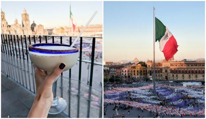 15 essential Mexico City experiences for the best trip ever   Mexico City must-do   Things to do in Mexico City   What to do in Mexico City   CDMX   Mexico DF   Can't-miss Mexico City activities and sights   Mexico City sightseeing   Margaritas and a giant flag at the Zócalo
