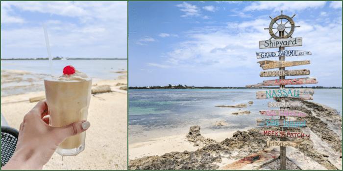 Do This, Not That // 2 Days in The Bahamas | Drinking a piña colada in paradise #thebahamas #bahamas #pinacolada #tropical #honeymoon #caribbean #island #paradise