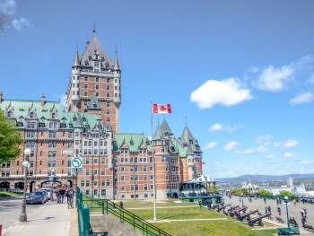 3 day in Quebec City Canada, the Europe you can drive to