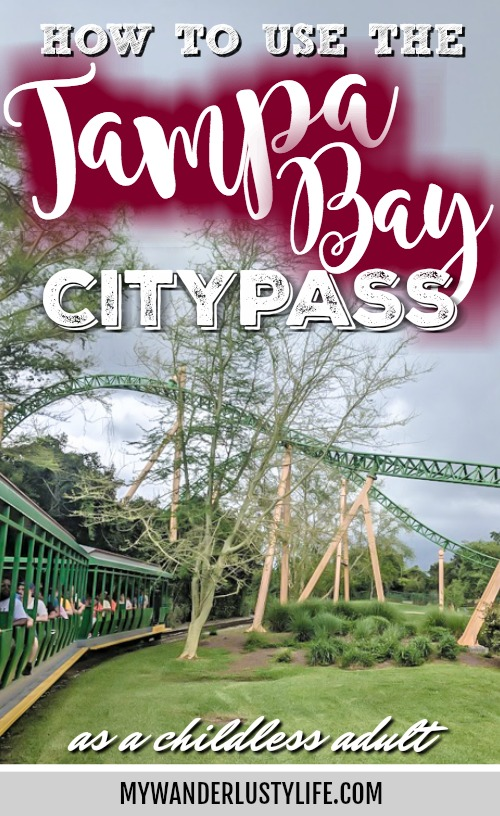 How to use the Tampa Bay CityPASS as a childless adult. Grownups deserve to have fun in Florida too! Includes admission to Busch Gardens, Zoo Tampa at Lowry Park, Chihuly Museum, Clearwater Marine Aquarium, and the Florida Aquarium #tampabay #florida #citypass #traveltips #vacation #tampa #timebudgettravel
