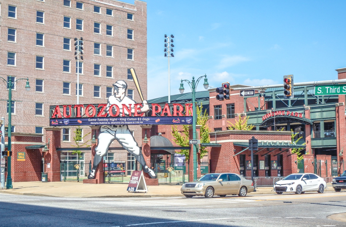 200 things to do in memphis, tennessee for first-time visitors, a local's guide   See a baseball game at AutoZone Park #memphis #redbirds #baseball #traveltips