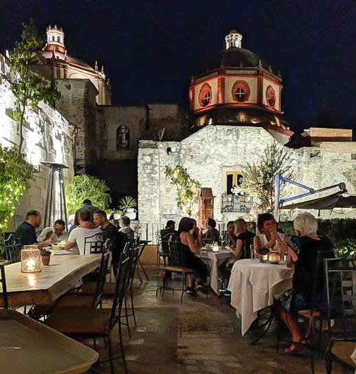 2 days in San Miguel de Allende travel tips | aerial views of the city | Rooftop patio at La Posadita #sanmigueldeallende #mexico #traveltips #timebudgettravel #sanmiguel