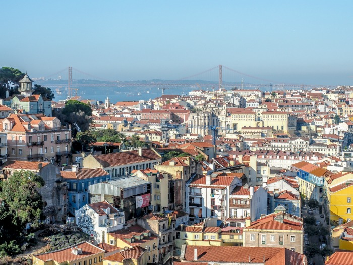A First-Timer's Guide to Spending 3 Days in Lisbon, Portugal | What to do in Lisbon, what to see in Lisbon | UNESCO World Heritage Sites, museums, where to eat in Lisbon | How to spend 3 days in Lisbon | miradouro view #traveltips #lisbon #portugal #view #rooftops