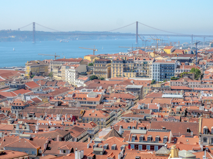 A First-Timer's Guide to Spending 3 Days in Lisbon, Portugal | What to do in Lisbon, what to see in Lisbon | UNESCO World Heritage Sites, museums, where to eat in Lisbon | How to spend 3 days in Lisbon | miradouro view #traveltips #lisbon #portugal #view
