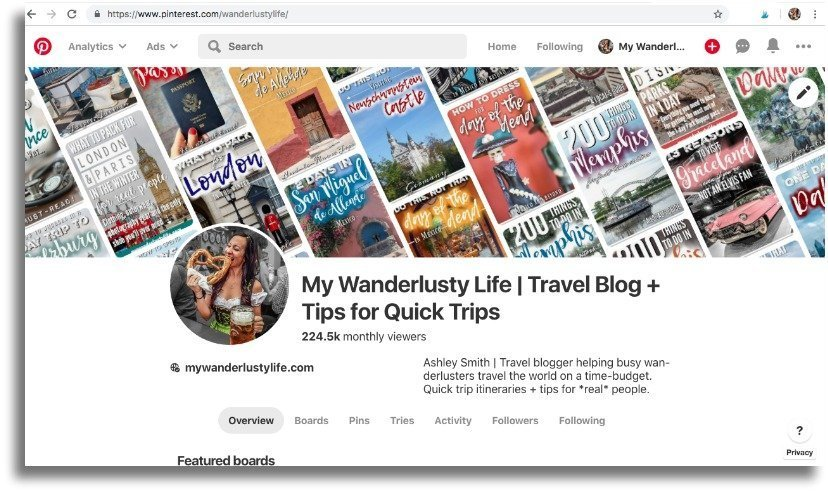 The Wanderlusty Guide to How to Start a Blog | Starting a WordPress blog from scratch with SiteGround | Pinterest and social media | Blogging Tips | Where to start | How to start a travel blog | How to become a blogger #bloggingtips #blogging #travelblogger #travelblog #digitalnomad #wordpress