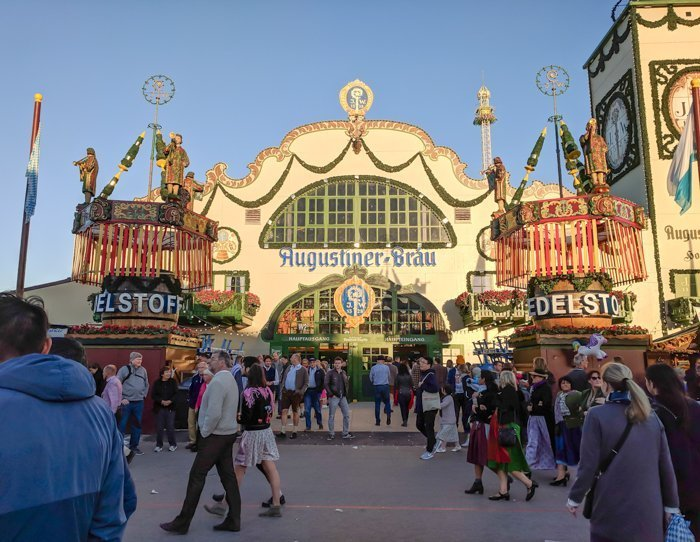 An Oktoberfest Tour Guide's Most Frequently Asked Oktoberfest Questions | Need to know Oktoberfest in Munich, Germany #oktoberfest #munich #germany #beer #festival | Augustiner beer tent