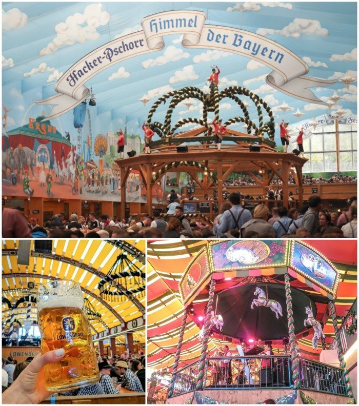 An Oktoberfest Tour Guide's Most Frequently Asked Oktoberfest Questions | Need to know Oktoberfest in Munich, Germany #oktoberfest #munich #germany #beer #festival | Beer tents and decorations