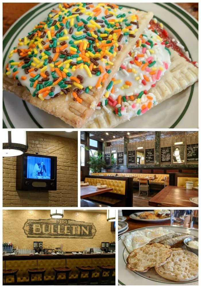 Breakfast and homemade pop tarts at Ted's Bulletin | A Jam-Packed 3 Days in Washington DC Itinerary for First Time Visitors | District of Columbia, White House, United States Capitol, Lincoln Memorial and Ford's Theater, Arlington | #washingtondc #uscapital #whitehouse #timebudgettravel #USA