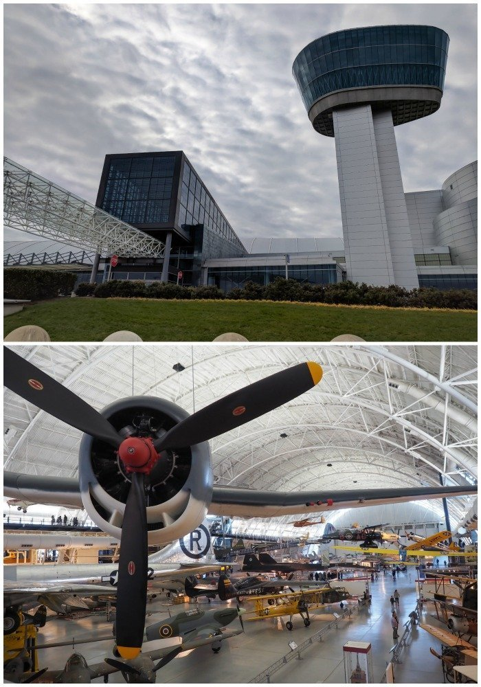 Smithsonian National Air & Space Museum, Udvar-Hazy Center | A Jam-Packed 3 Days in Washington DC Itinerary for First Time Visitors | #washingtondc #timebudgettravel #USA