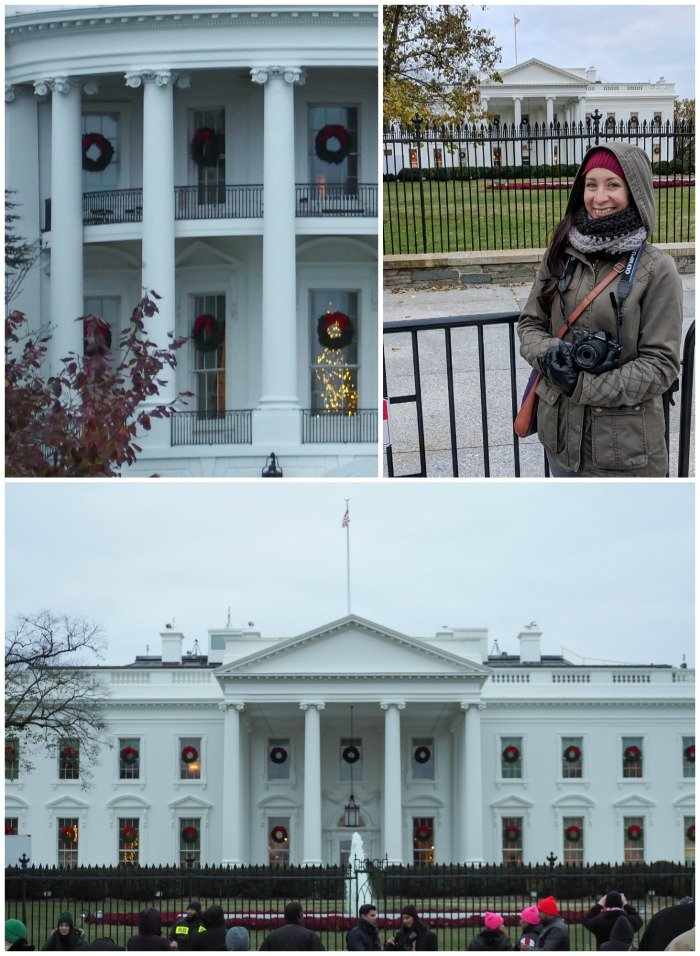 White House | A Jam-Packed 3 Days in Washington DC Itinerary for First Time Visitors | #washingtondc #timebudgettravel #USA