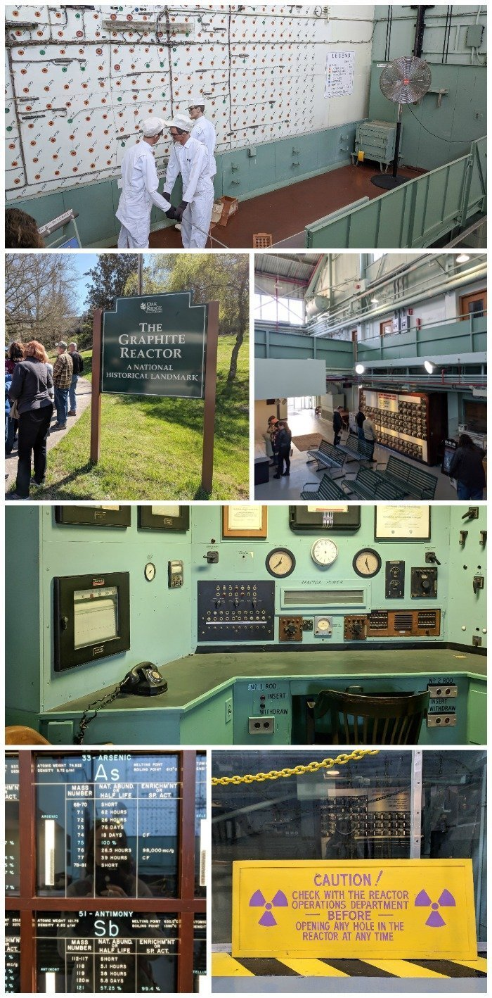 Department of Energy bus tour, X-10 Graphite Reactor | 7 Ways to Spend a Day in Oak Ridge, Tennessee | Manhattan Project | Atomic bomb | World War II | Department of Energy | Y-12, X-10 graphite reactor | #Oakridge #WWII #manhattanproject #tennessee