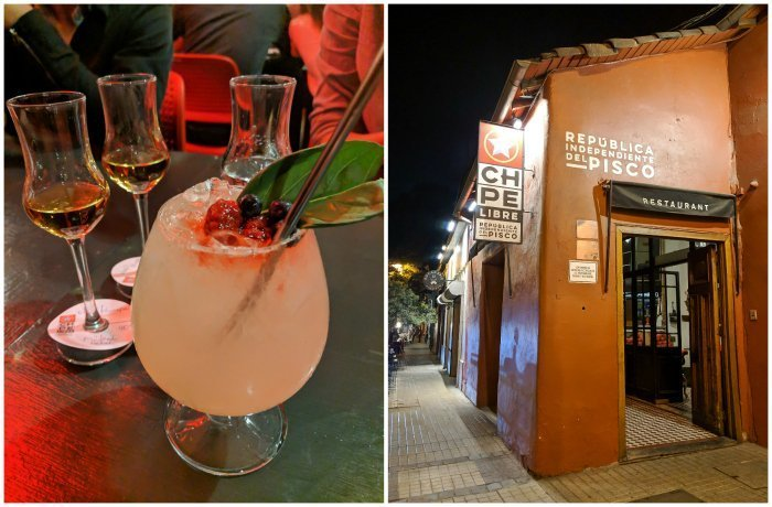 How to Spend One Week in Chile and Cover All the Bases | Pisco sampling at Chipe Libre in Santiago #chile #whattodoinchile #weekinchile #chipelibre #pisco