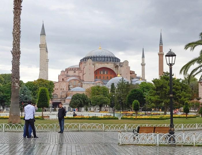Hagia Sophia in Sultanahmet Square, Istanbul, Turkey