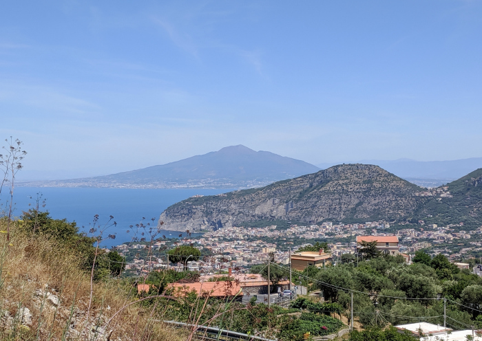 5 days in Sorrento, Italy and the Amalfi Coast | View of the amalfi coast from the road #sorrento #italy #amalficoast