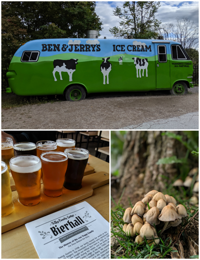 Ben & Jerry's ice cream, von trapp bierhall | 11 Ways to Fill Your Days During a Weekend in Vermont | #vermont #stowe #newengland #benandjerrys #craftbeer